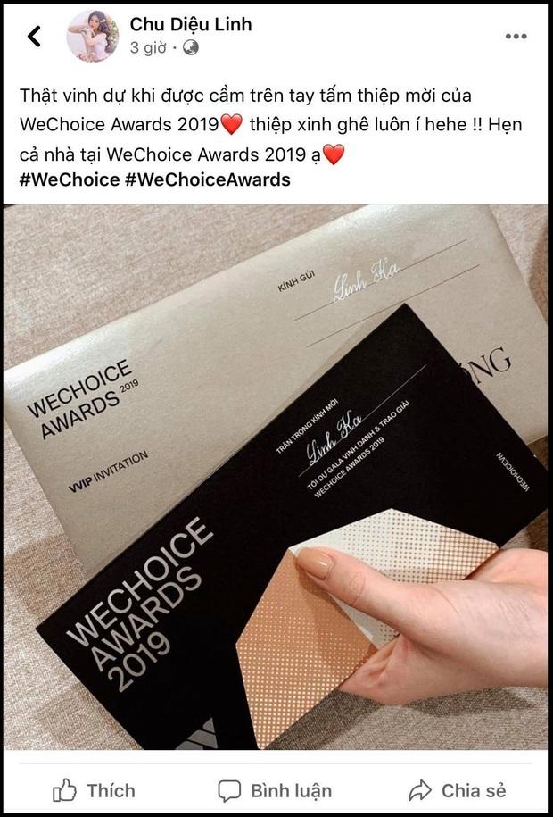 Hot nhất nhì MXH bây giờ chính là thiệp mời Gala WeChoice Awards 2019, dàn khách mời nổi tiếng đua nhau khoe! - Ảnh 8.