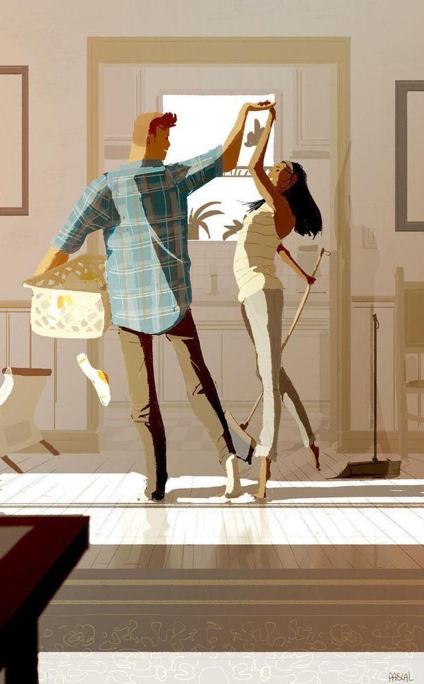 Đàn ông rung đùi uống trà ngày Tết trong khi vợ cắm mặt dọn dẹp nhà cửa: Nói em nghỉ đi để anh làm nhé có khó đến vậy không? - Ảnh 4.