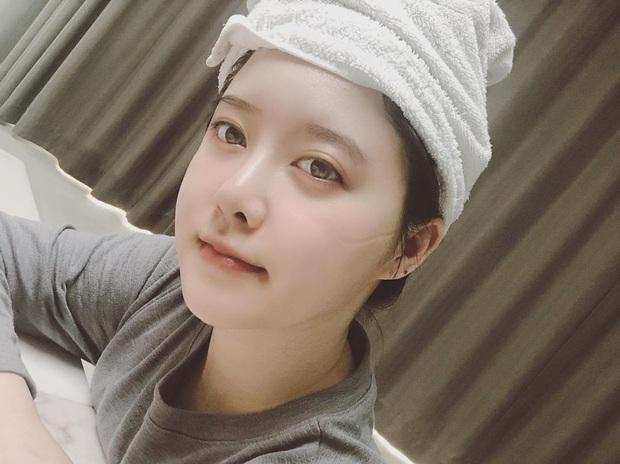 Goo Hye Sun gây xôn xao khi  đăng tải ảnh selfie với dòng chú thích kì lạ: Tôi vừa đấu dao với người ngoài hành tinh - Ảnh 4.