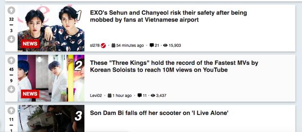 Báo chí và fan quốc tế sốc trước cảnh Sehun - Chanyeol (EXO) méo mó, bị bóp nghẹt vì biển fan đông nghẹt thở ở Nội Bài - Ảnh 10.