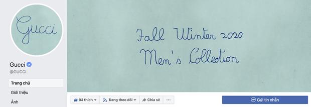 Gucci chơi lầy treo avatar và cover viết ẩu, dân tình bình luận: Chắc designer nghỉ Tết rồi! - Ảnh 1.