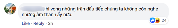 Fan Việt bức xúc với câu hát Bay lên trời là em bay ra ngoài: Phản cảm, nhức đầu, đối thủ chẳng hiểu gì mà lại khiến đội nhà mất tập trung - Ảnh 10.