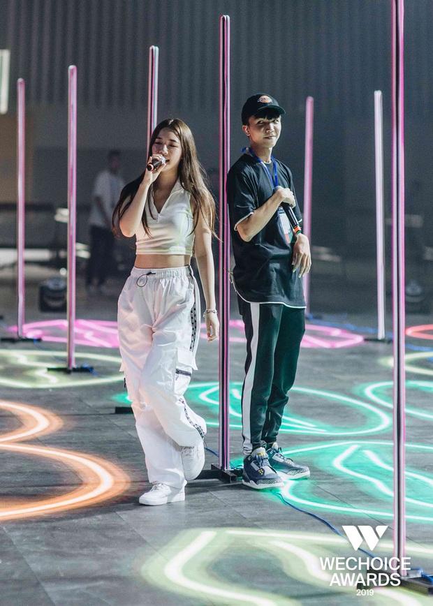 BigDaddy - Emily, AMEE, Sóc Nâu xuất hiện cool ngầu, làm bùng nổ sân khấu trước thềm Gala WeChoice Awards 2019 - Ảnh 5.