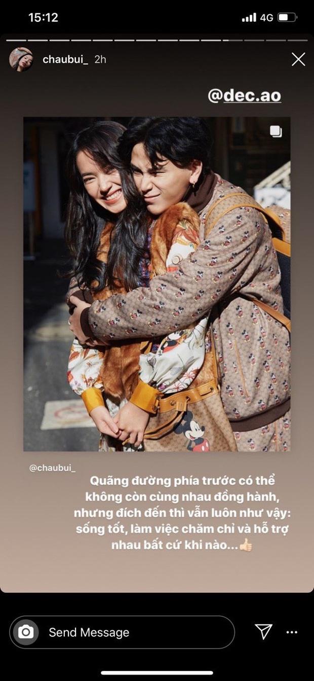Châu Bùi chính thức thông báo chia tay Decao bằng 1 tấm ảnh ôm nhau thắm thiết, fan mừng hụt tưởng couple quay lại - Ảnh 2.