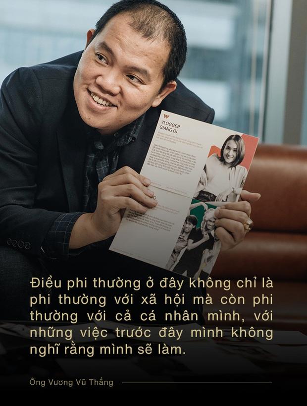 Ông Vương Vũ Thắng: Điều phi thường tuy nhỏ bé với một cá nhân, nhưng được cộng hưởng với những người khác thì sẽ thành to lớn - Ảnh 3.
