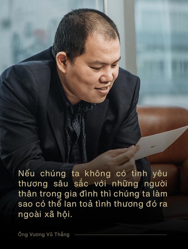 Ông Vương Vũ Thắng: Điều phi thường tuy nhỏ bé với một cá nhân, nhưng được cộng hưởng với những người khác thì sẽ thành to lớn - Ảnh 7.