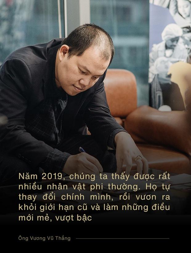 Ông Vương Vũ Thắng: Điều phi thường tuy nhỏ bé với một cá nhân, nhưng được cộng hưởng với những người khác thì sẽ thành to lớn - Ảnh 4.