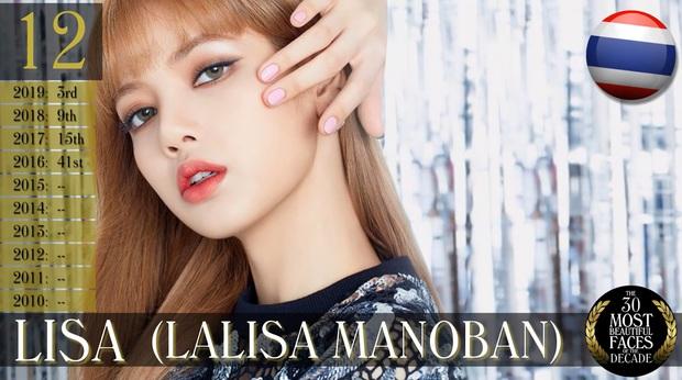 30 gương mặt đẹp nhất thế giới của thập kỷ: Bất ngờ vị trí Song Hye Kyo và Lisa, Nana hay Tzuyu (TWICE) giành No.1? - Ảnh 9.