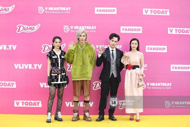 Thảm đỏ Year End Party Hàn-Việt: K-ICM chính thức lộ diện không có Jack, Monsta X và Hương Giang chặt chém giữa dàn sao - Ảnh 16.