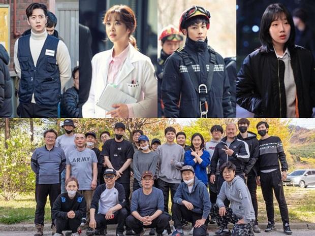 Park Hae Jin làm lính cứu hộ máu lửa với KPI 5000 tỉ nhét ví trong Forest của KBS - Ảnh 3.