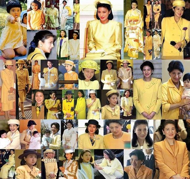 Hoàng hậu Masako luôn gây trầm trồ mỗi khi xuất hiện, một phần lý do chính là vì màu sắc trang phục của bà - Ảnh 2.