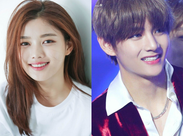 """Netizen đưa """"bằng chứng"""" V (BTS) và mỹ nhân """"Mặt trăng ôm mặt trời"""" Kim Yoo Jung hẹn hò, nhưng sự thật khiến fan ngã ngửa - Ảnh 2."""