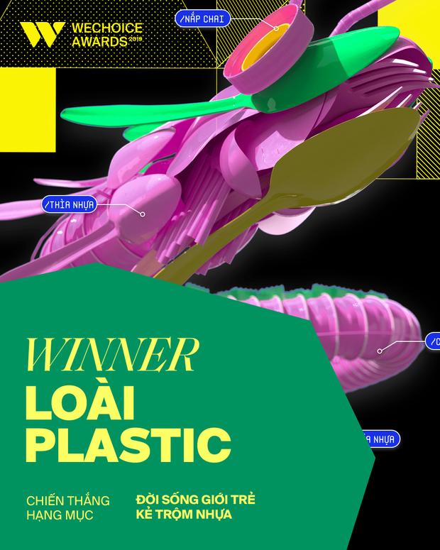 Dự án Loài Plastic chiến thắng hạng mục Kẻ Trộm Nhựa, kết thúc 1 năm bảo vệ môi trường trở thành vấn đề nóng với giới trẻ - Ảnh 2.