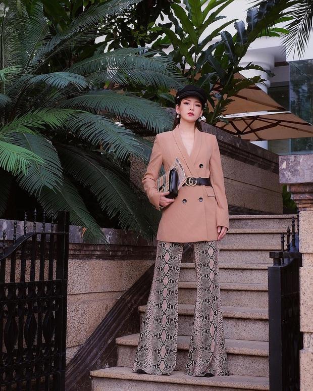 Chẳng cao như người mẫu nhưng Chi Pu vẫn hack được chân dài, dáng đẹp nhờ bí kíp diện quần ống loe tuyệt hay - Ảnh 10.
