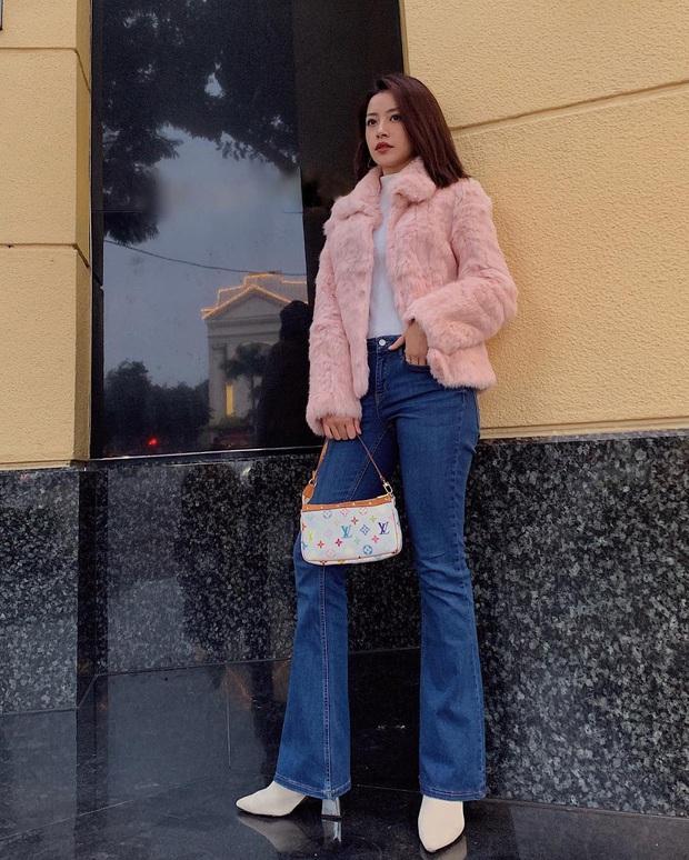 Chẳng cao như người mẫu nhưng Chi Pu vẫn hack được chân dài, dáng đẹp nhờ bí kíp diện quần ống loe tuyệt hay - Ảnh 8.