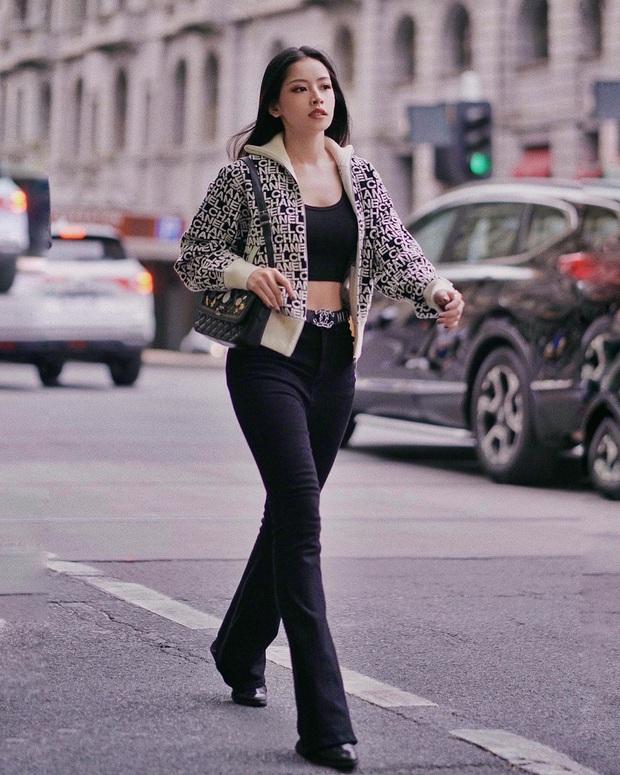 Chẳng cao như người mẫu nhưng Chi Pu vẫn hack được chân dài, dáng đẹp nhờ bí kíp diện quần ống loe tuyệt hay - Ảnh 3.