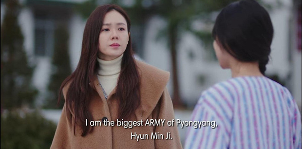 Hết mượn danh BTS trốn tình địch, Son Ye Jin lại rớt liêm sỉ nhận làm fangirl Hyun Bin ở tập 7 Crash Landing On You - Ảnh 4.