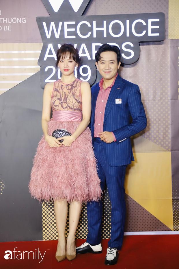 Không hẹn mà gặp, cả dàn Bông hậu đụng độ gam màu xanh hot trend ngay trên thảm đỏ WeChoice Awards 2019 - Ảnh 9.
