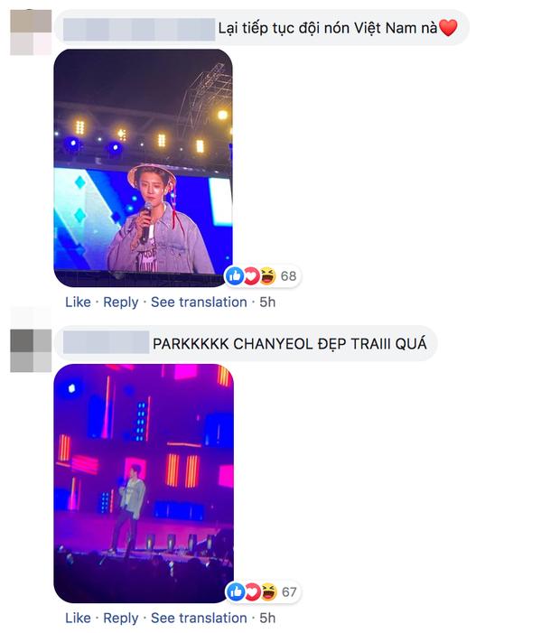 Chanyeol (EXO) đội nón lá nói anh yêu em ngay trên đất Việt, bảo sao fangirl Việt mất hết liêm sỉ tranh nhau nhận làm chồng! - Ảnh 5.