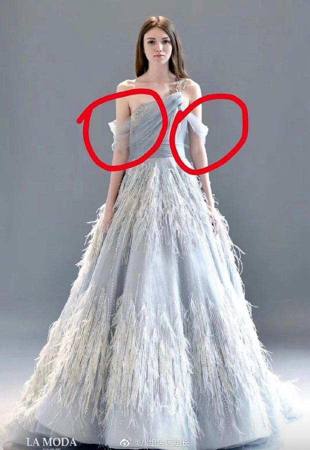 Xôn xao cảnh Dương Tử mặc váy kém chất lượng, khiến Dương Mịch ngán ngẩm nhặt lông vũ rơi rụng trên váy đắt tiền - Ảnh 8.