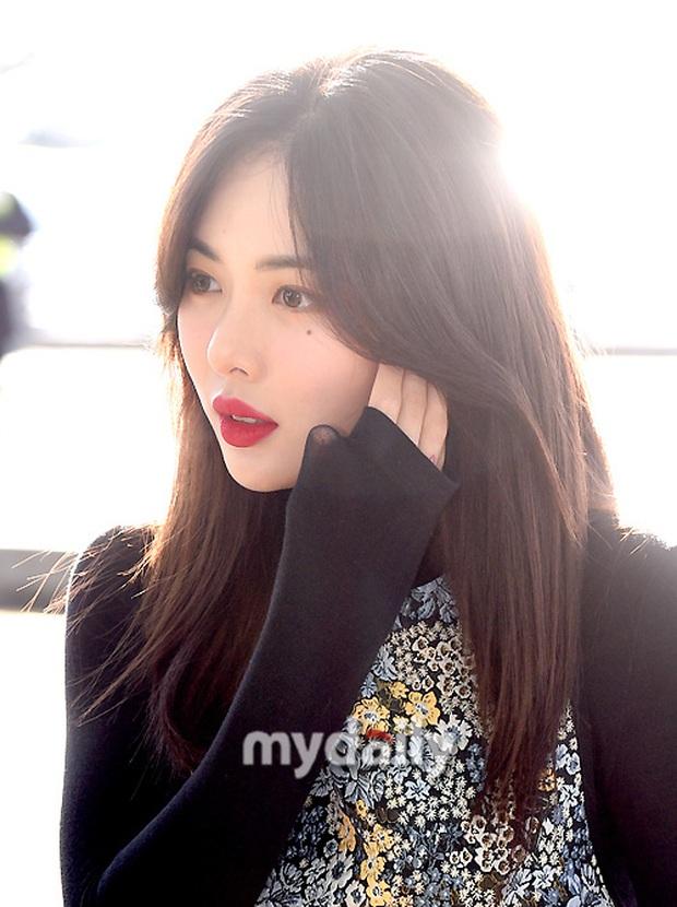 Dàn mỹ nhân Hàn đại chiến visual ở sân bay: Lisa - Rosé (BLACKPINK) xinh muốn ngất, Hani lép vế trước Hyuna và Hyomin - Ảnh 23.