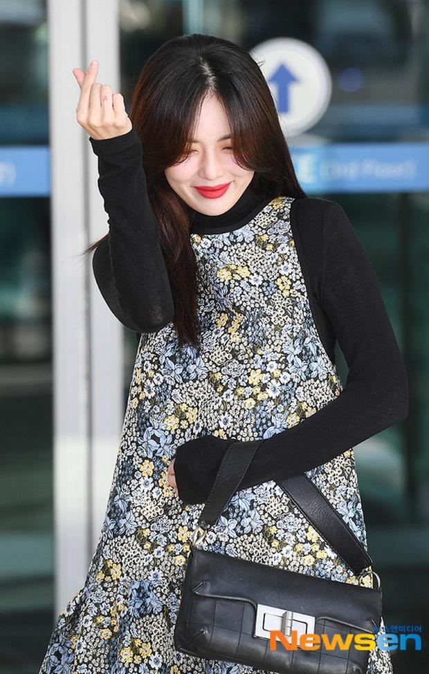 Dàn mỹ nhân Hàn đại chiến visual ở sân bay: Lisa - Rosé (BLACKPINK) xinh muốn ngất, Hani lép vế trước Hyuna và Hyomin - Ảnh 22.