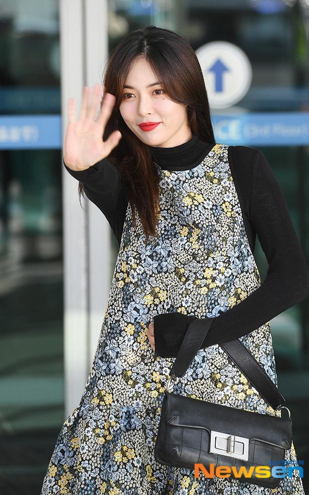 Dàn mỹ nhân Hàn đại chiến visual ở sân bay: Lisa - Rosé (BLACKPINK) xinh muốn ngất, Hani lép vế trước Hyuna và Hyomin - Ảnh 21.