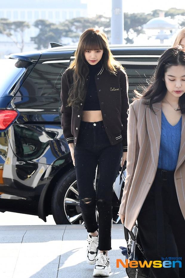 Dàn mỹ nhân Hàn đại chiến visual ở sân bay: Lisa - Rosé (BLACKPINK) xinh muốn ngất, Hani lép vế trước Hyuna và Hyomin - Ảnh 7.