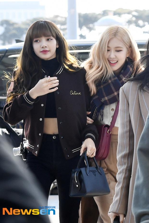 Dàn mỹ nhân Hàn đại chiến visual ở sân bay: Lisa - Rosé (BLACKPINK) xinh muốn ngất, Hani lép vế trước Hyuna và Hyomin - Ảnh 3.