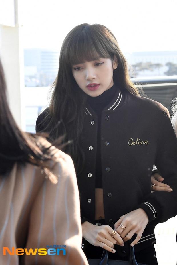 Dàn mỹ nhân Hàn đại chiến visual ở sân bay: Lisa - Rosé (BLACKPINK) xinh muốn ngất, Hani lép vế trước Hyuna và Hyomin - Ảnh 8.