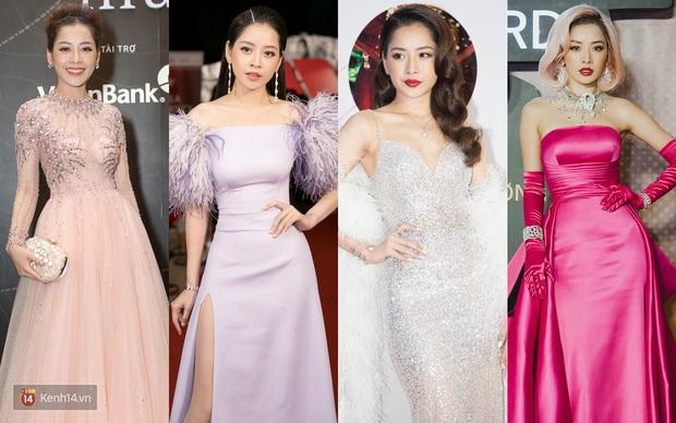 Style của Chi Pu qua 4 lần dự WeChoice Awards: Từ hot girl e ấp đến nữ hoàng thảm đỏ, chẳng ngại chặt chém - Ảnh 6.