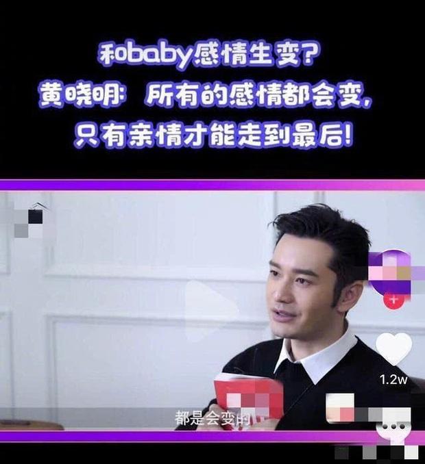 Không còn là tổng tài ngôn tình, Huỳnh Hiểu Minh nói về cuộc hôn nhân với Angela Baby với thái độ phũ phàng? - Ảnh 1.
