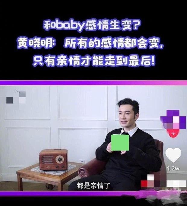 Không còn là tổng tài ngôn tình, Huỳnh Hiểu Minh nói về cuộc hôn nhân với Angela Baby với thái độ phũ phàng? - Ảnh 2.