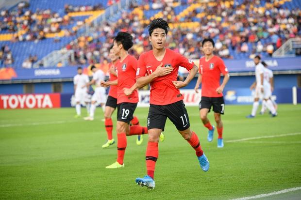 Hot như tuyển Hàn Quốc tại VCK U23 châu Á: Đội hình toàn nam thần, đi đá bóng có nhất thiết cần đẹp như thế này không! - Ảnh 5.