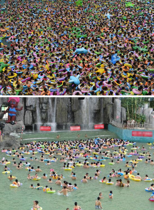 Không phải photoshop, đây là loạt ảnh có thật 100% tại các địa điểm du lịch trong mùa cao điểm: Đông muốn ngạt thở! - Ảnh 7.