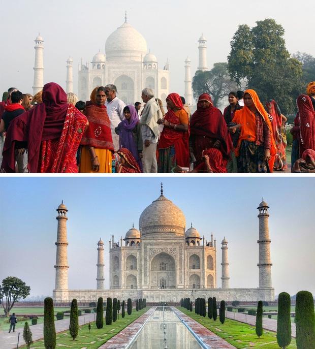 Không phải photoshop, đây là loạt ảnh có thật 100% tại các địa điểm du lịch trong mùa cao điểm: Đông muốn ngạt thở! - Ảnh 9.