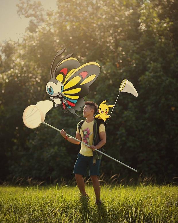 """Đi du lịch với… Pokemon? Chuyện nghe vô lý nhưng thực ra lại rất thuyết phục bởi bàn tay photoshop """"thần thánh"""" của chàng trai này - Ảnh 4."""