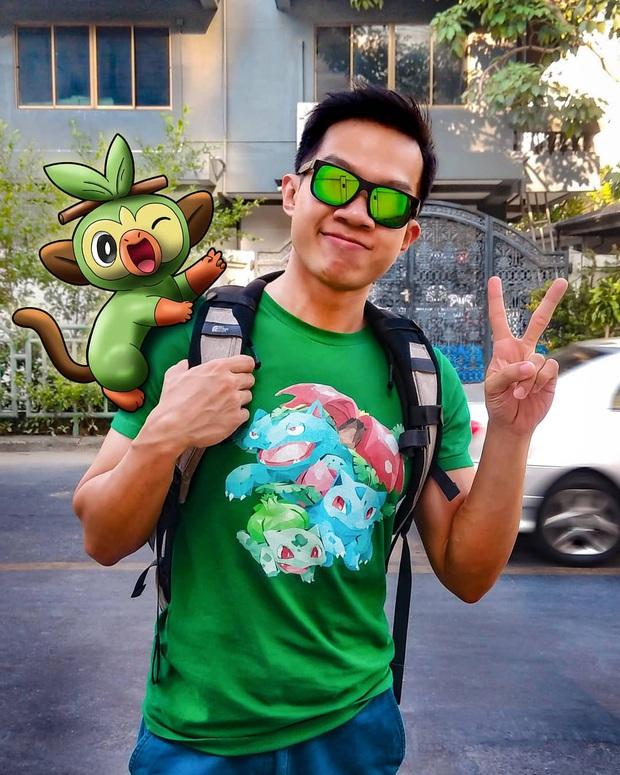 """Đi du lịch với… Pokemon? Chuyện nghe vô lý nhưng thực ra lại rất thuyết phục bởi bàn tay photoshop """"thần thánh"""" của chàng trai này - Ảnh 1."""
