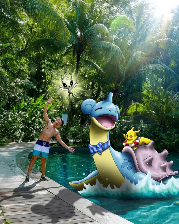 """Đi du lịch với… Pokemon? Chuyện nghe vô lý nhưng thực ra lại rất thuyết phục bởi bàn tay photoshop """"thần thánh"""" của chàng trai này - Ảnh 2."""