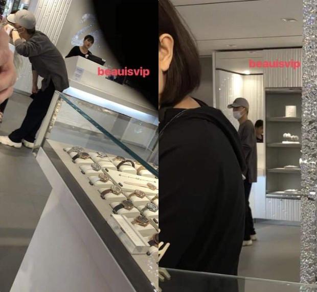 Rộ lên loạt ảnh Chen (EXO) xuất hiện tại cửa hàng trang sức từ tận năm ngoái giữa tin đồn cưới chạy bầu - Ảnh 1.