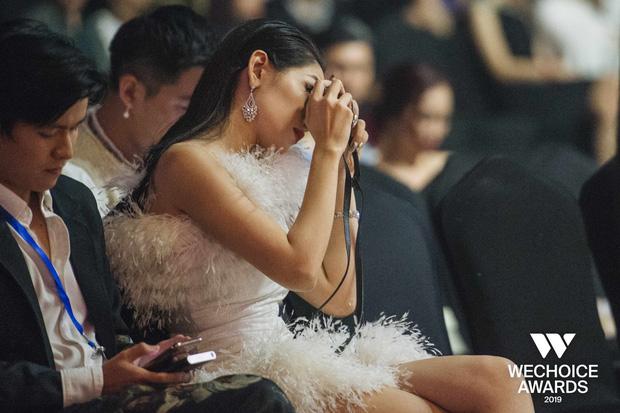 Đam mê như Chi Pu: Ngồi dự WeChoice Awards vẫn miệt mài chụp ảnh film, chưa biết thành quả ra sao nhưng tâm huyết thì có thừa! - Ảnh 2.