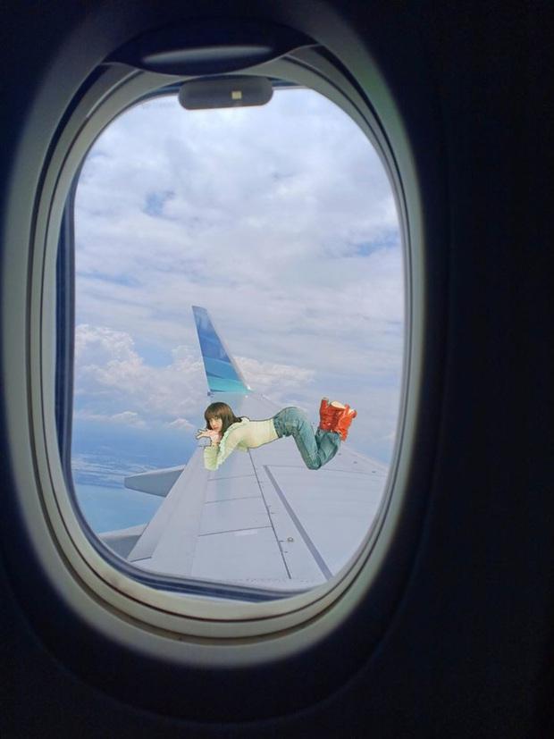 Chỉ vì tạo dáng có chút đặc biệt, Lisa (BLACKPINK) nhận ngay chùm ảnh chế bay khắp thế gian: Fan gì quá đáng vậy trời! - Ảnh 2.