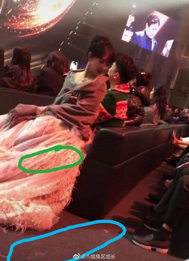 Xôn xao cảnh Dương Tử mặc váy kém chất lượng, khiến Dương Mịch ngán ngẩm nhặt lông vũ rơi rụng trên váy đắt tiền - Ảnh 7.