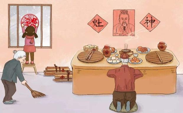 Táo Quân: Vị thần được người Trung Quốc tôn sùng và những nét riêng biệt trong lễ cúng tiễn ông cưỡi ngựa về trời mỗi 23 tháng Chạp hàng năm - Ảnh 2.