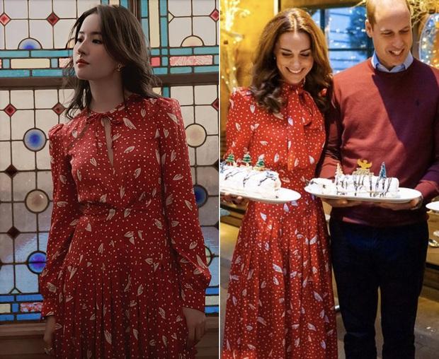 Cùng 1 mẫu váy: Lưu Diệc Phi đẹp thần tiên, Công nương Kate lại chứng tỏ đẳng cấp khi sửa váy sang trọng hơn hẳn - Ảnh 6.