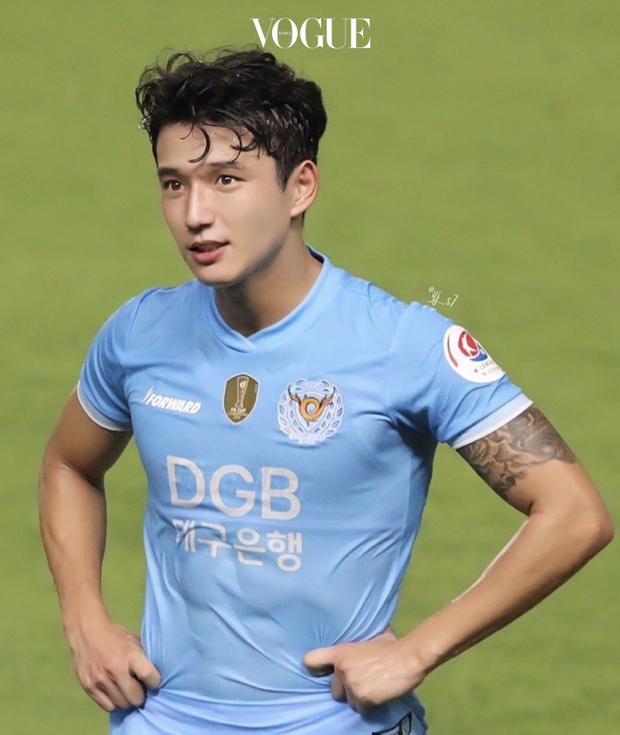 Cầu thủ đẹp trai nhất Hàn Quốc gây sốt tại giải U23 châu Á: Chỉ một khoảnh khắc thôi cũng đủ khiến dân tình phải điêu đứng - Ảnh 4.