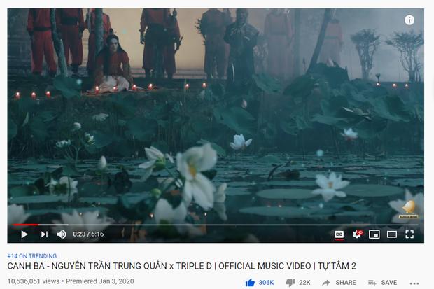 Màn kết hợp với Hương Giang tại WeChoice Awards 2019 quá viral, Canh Ba của Nguyễn Trần Trung Quân băng băng quán quân iTunes, top 1 trending Music! - Ảnh 6.