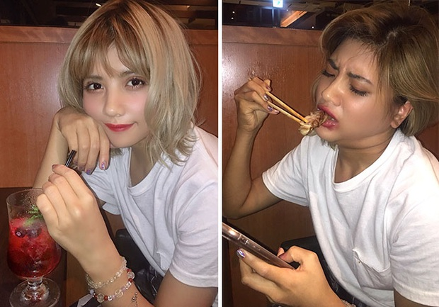 Người mẫu Thái Lan gây sốt bằng bộ ảnh Instagram vs thực tế khoe nhan sắc xinh hết nút đi kèm với sự thật hết hồn - Ảnh 15.