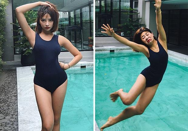 Người mẫu Thái Lan gây sốt bằng bộ ảnh Instagram vs thực tế khoe nhan sắc xinh hết nút đi kèm với sự thật hết hồn - Ảnh 20.
