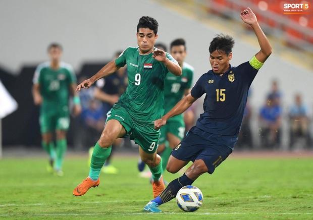 Xuất sắc cầm hòa Iraq, đội tuyển Thái Lan lần đầu tiên trong lịch sử vượt qua vòng bảng giải U23 châu Á - Ảnh 13.